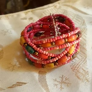 Style & Co Jewelry - Chic Cuff Style Beaded Bracelet